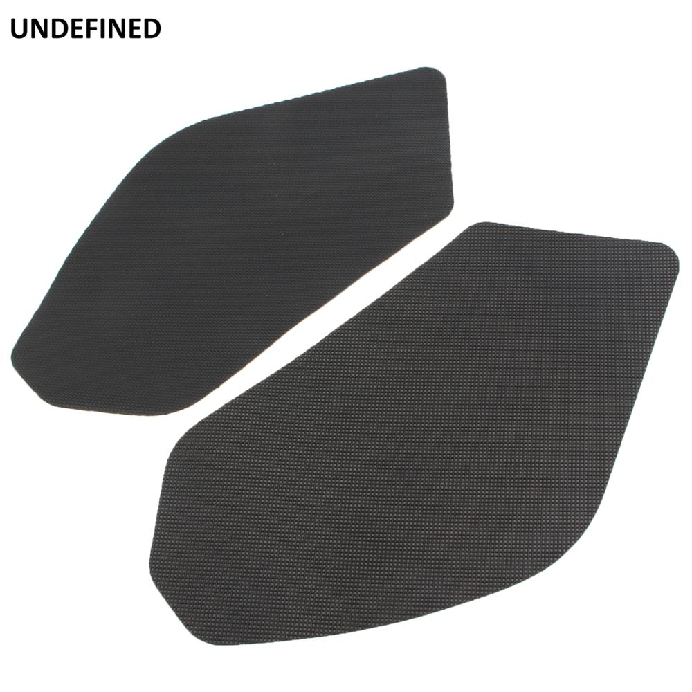 Motorbike Square Fuel Tank Traction Pads Side Gas Pads Knee Grip Stickers