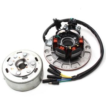 Kit de rotor estator Magneto con luz para (motor YX YINXIANG 150cc/160CC) Dirt Pit Bike motocicleta Pit piezas eléctricas automáticas profesionales