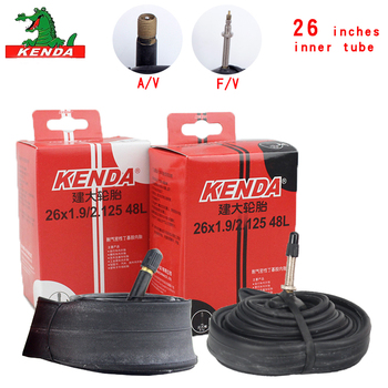 Kenda Bicycle Inner Tube Mountain Bike Tube Tires 26*1.5 1.75 1.95 2.125 S/V F/V Cycling Bicycle parts butyl rubber Inner Tube image