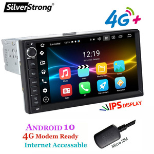 Image 2 - SilverStrong, Android10, Universal 1Din Car radio tape recorder, GPS Auto Stereo, LADA GRANTA Android