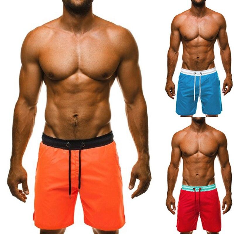 2020 Summer Men's Beach Swimming Shorts Board Short Gailang Swimwear Matching Wear Surf Pants Swimsuits Male Swim Trunks
