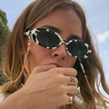1PC Summer Retro Sunglasses for Women Small Oval Frame Sun Glasses Fashion Shades Polarized Eyewear UV400 Sunglasses