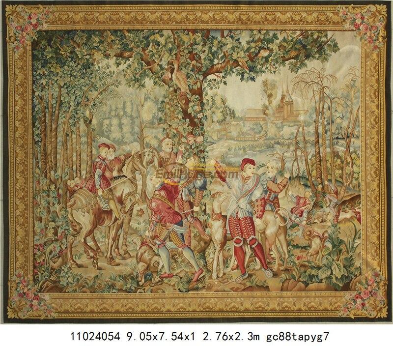 Aubusson Bruin Modieuze Circulaire Huishoudelijke Decoratie Mat Bloemen Decor Vloer Kits