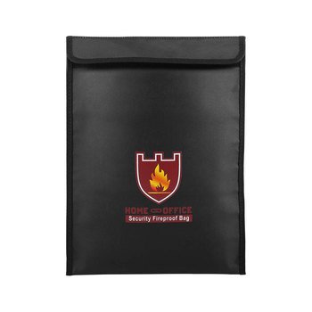 Fireproof Document Bag File Organizer Document Organizer Fire And Water Resistant Protect  Valuables Documents Money