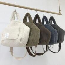 Bolsos Mujer De Marca Famosa borsa da donna in peluche di agnello invernale borsa a tracolla Casual per tutte le partite borse e borsette originali