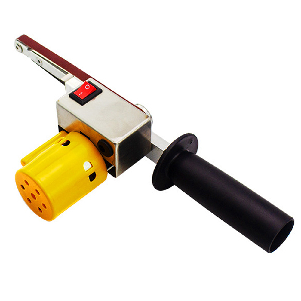 Handheld Electric Belt Sander Mini Sanding Machine Angle Grinder With Sanding Belt For Sanding Polishing Micro Polishing Machine