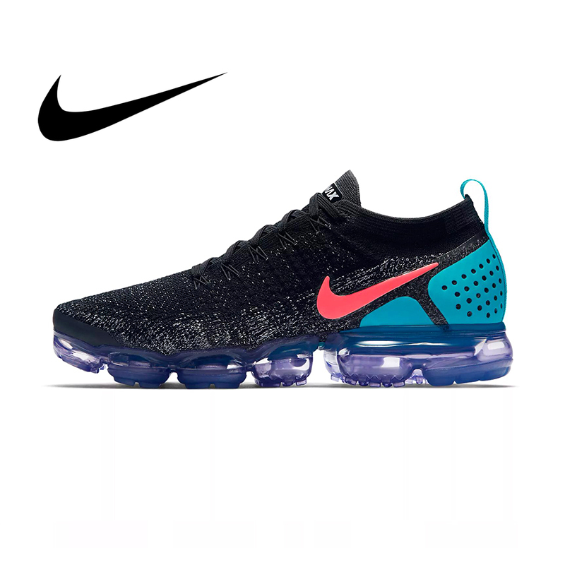 Original Nike Air Vapormax Flyknit 2 Men's Running Shoes Cozy Mesh Breathable Good Quality Jogging Sport Outdoor Sneakers 942842