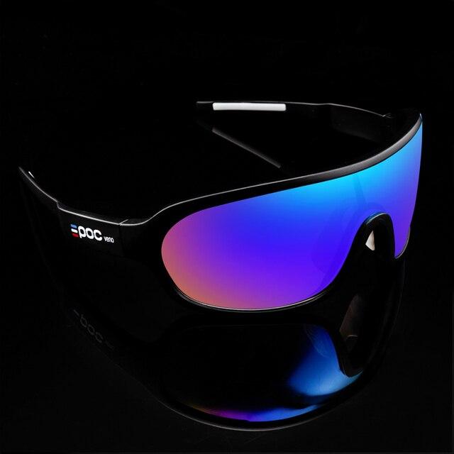 Poc do blade frança especial 4 lentes da bicicleta óculos de sol do esporte mtb óculos de ciclismo 6