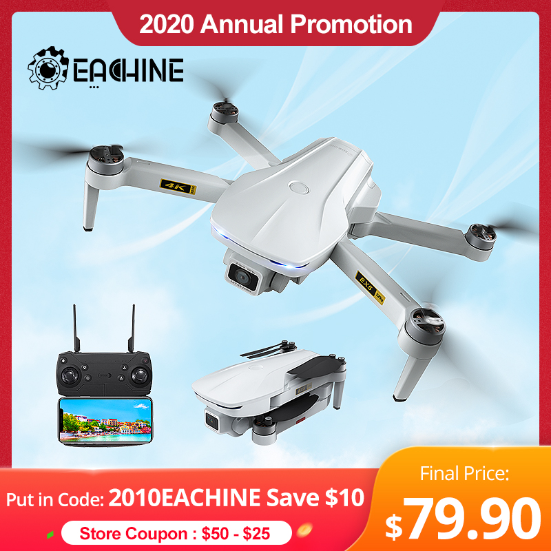 Eachine EX5 Drone 229g RC Quadcopter 4K GPS HD Mini Camera Profesional With 5G WIFI 1000 METERS Distance FPV Drone Protable Dron|RC Helicopters| - AliExpress
