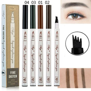 Aiyi Four-Forked 1Ml Very Fine-Grained Eyebrow Pencil Natural Long-Lasting Waterproof Is Not Blooming image