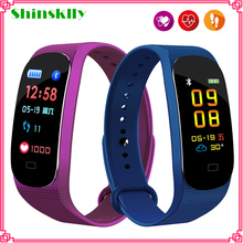 M5 Smart band Fitness Tracker Watch Fitness bracelet Heart Rate Monitor Blood Pressure Smartband Health Wristband PK mi band 4 3 m4 smart band wristband fitness tracker watch sport bracelet heart rate monitor smartband health wristband pk mi band 4 3