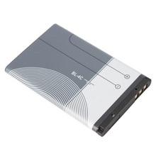 טלפון סוללה BL 4C עבור Nokia 6100 6300 6260 6125 6136S 6170 6301 7705 7200 7270 8208 BL4C ליתיום החלפה סוללות