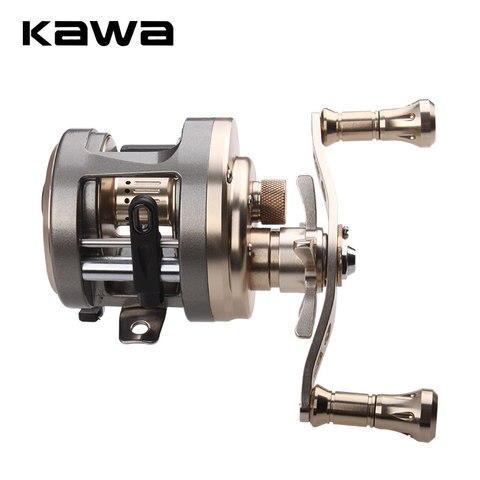 2018 carretel de pesca kawa elenco roda de tambor carretel da carcaca de isca max