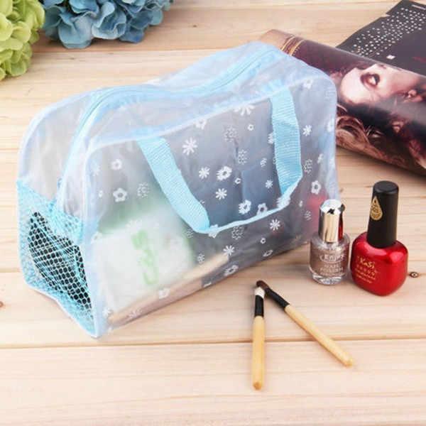 المحمولة ماكياج التجميل أدوات الزينة السفر غسل فرشاة الأسنان الحقيبة المنظم حقيبة PK موضة جديدة مقاوم للماء الحقيبة المنظم حقائب