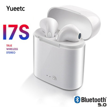 i7s TWS Twins Wireless Earbuds Bluetooth Stereo Headset earphone earphones With microphone Set For iPhone Samsung Xiaomi Huawei mini twins bluetooth earphone airpods true tws wireless stereo headset earbuds with mic charge box for iphone samsung xiaomi