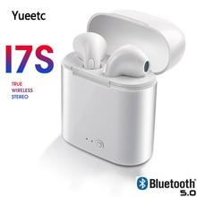 i7s TWS Twins Wireless Earbuds Bluetooth Stereo Headset earphone earphones With