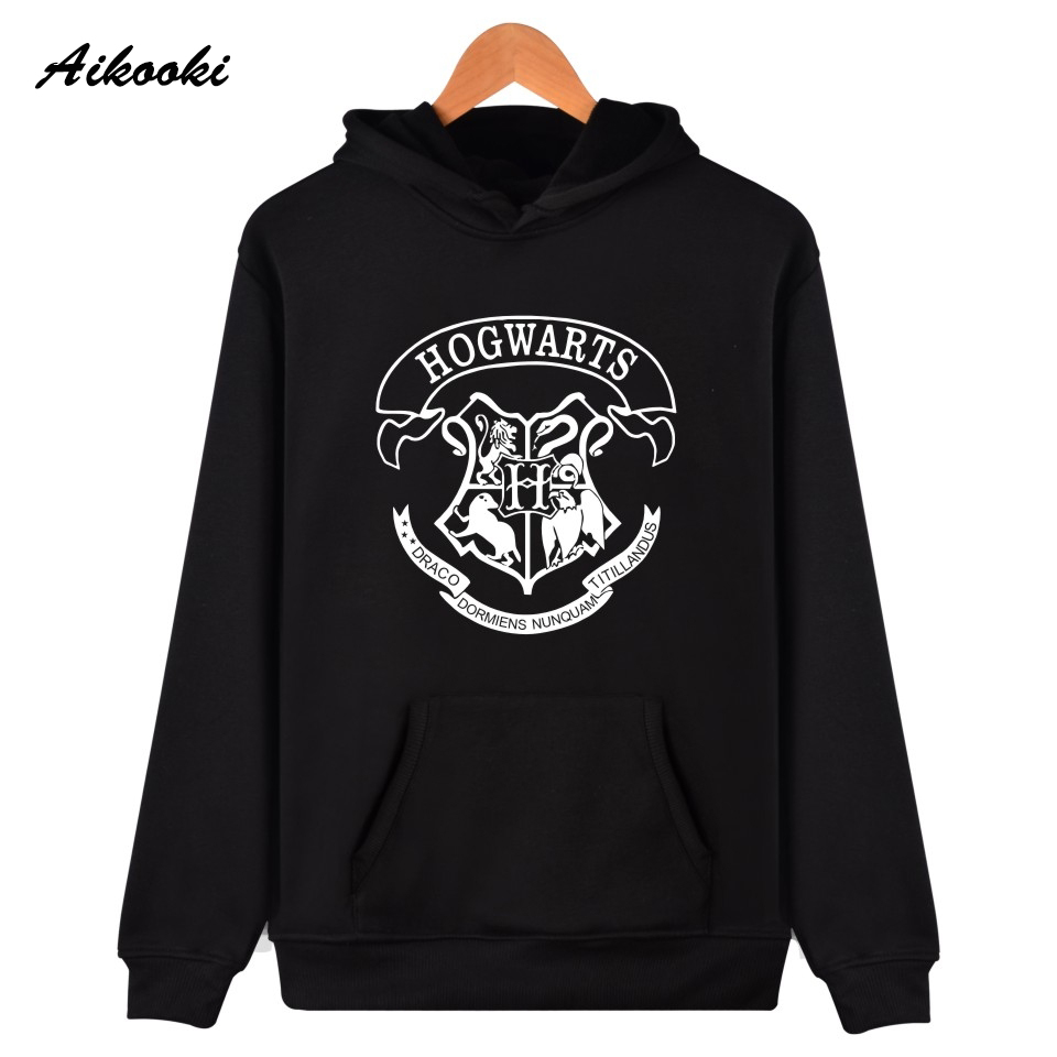 Casual New Hogwarts Men/Women Hoodies Sweatshirts Brand Clothing HOGWARTS Tracksuit Streetwear Hip Hop Hoody Boys/girls Tops