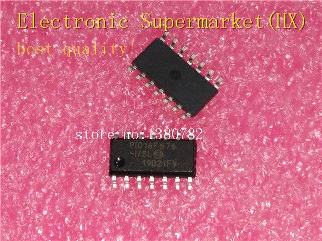 Darmowa wysyłka 50 sztuk/partii PIC16F676 I/SL PIC16F676 SOP 14 IC w magazynie!