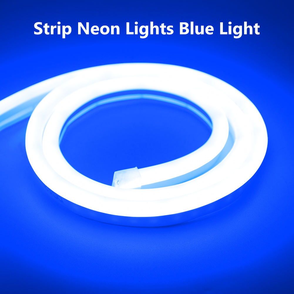 He0d009d0b3fc41d081b41463a593ac3cK 6mm Narrow Neon light 12V LED Strip SMD 2835 120LEDs/M Flexible Rope Tube Waterproof for DIY Christmas Holiday Decoration Light