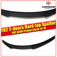 F82 Spoiler rear lip wings FRP Unpainted AEM4 style Fit For BMW F82 2-doors Hard top 420i 430i 435 rear trunk Spoiler wing 14-18 guy gavriel kay ysabel