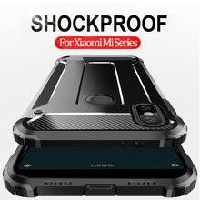 Original Armor Case For Xiaomi Mi Play MiA3 Soft Silicone Bumper Anti-Shock Cover A3 Cases