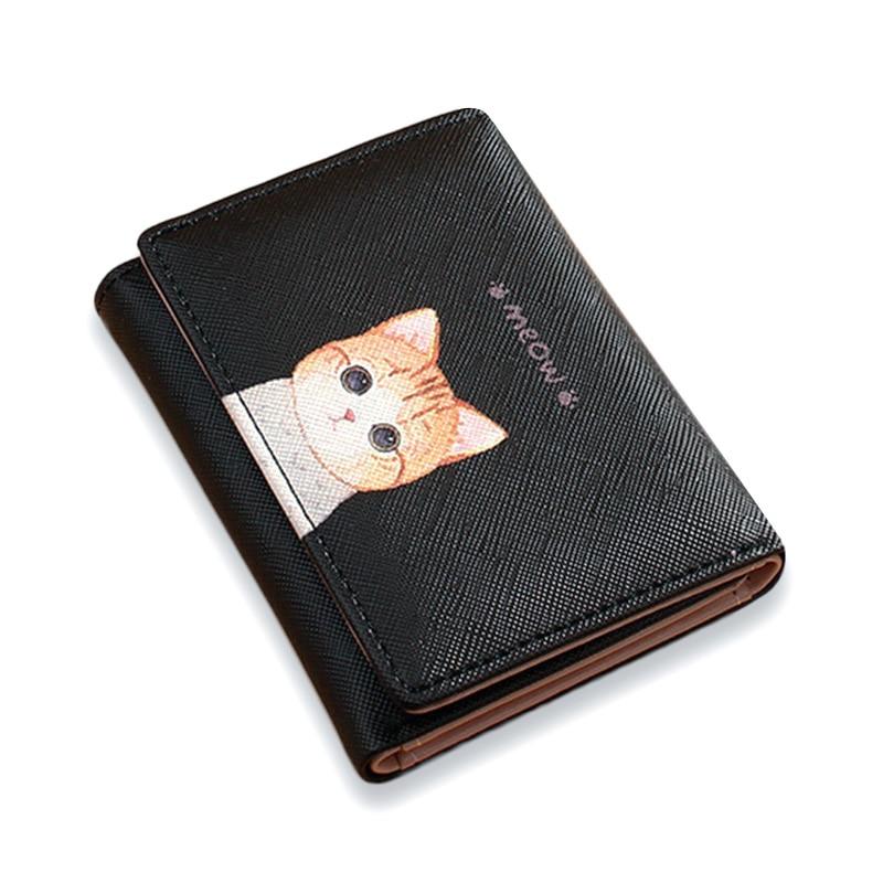Ladies Fashion Purse Wallet Trifold Genuine Leather women card holder UK Seller
