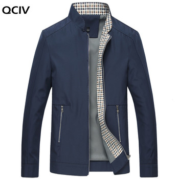New Spring Autumn Men's Jackets Casual Coats Solid Color Mens Brand Clothing Stand Collar Male Bomber Jackets plus size 10xl 9xl 8xl mens jackets spring autumn casual solid color coats mens sportswear slim jackets male bomber jackets