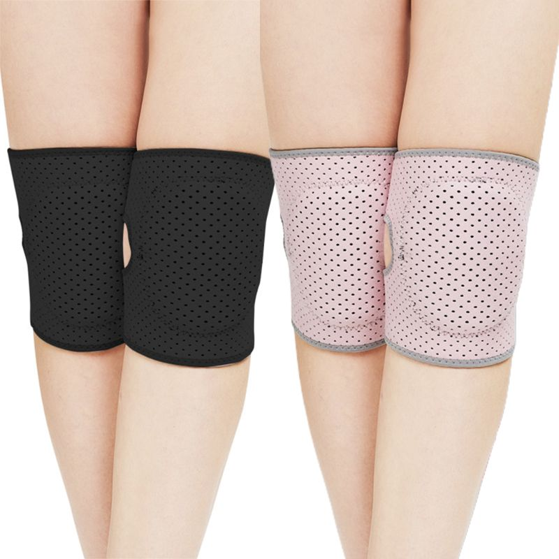 Adult Kids Knee Support Brace Dance Yoga Sport Gym Workout Skating Breathable Adjustable Thick Sponge Kneepad Protector