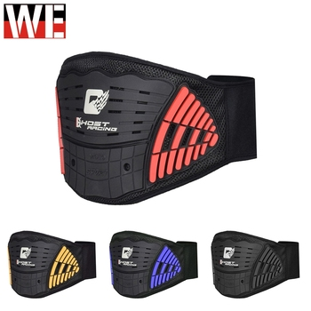 GHOST RACING Motocycle Waist Protector Kidney Protection Adjustable Waist Belt Motocross Racing Lumbar Support Back Waist Brace ms belt between the waist dish of lumbar tractor pneumatic tensile male outstanding household waist support lumbago