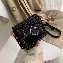 Роскошные модные сумочки 2020 модная женская кожаная сумка мессенджер