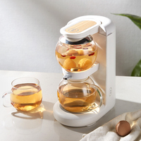 Tea Pot Health Preservation Hourglass Pot Mini Office Small-scale Household Many Function Bubble Boiling Teapot Tea Drinking