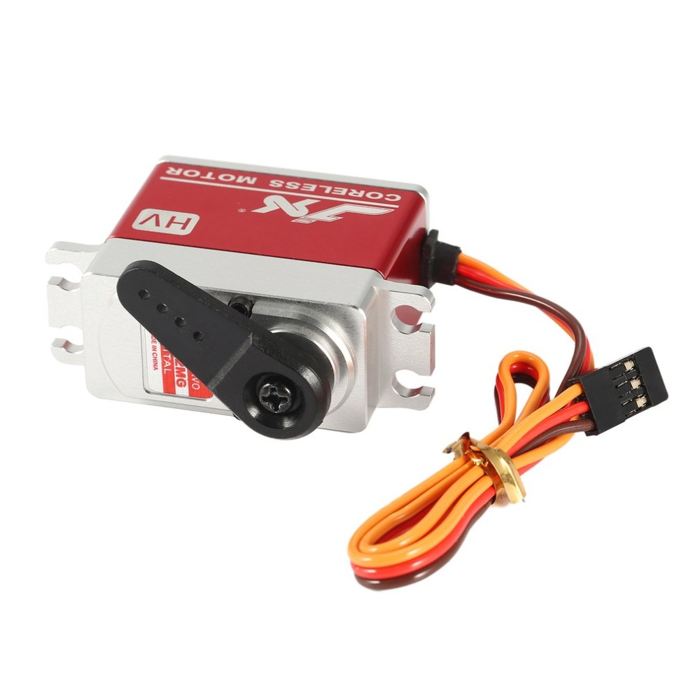 New JX Servo PDI HV7232MG 30KG Large Torque 180 Degree High Voltage Digital Servo For 1 10 1 8 RC Car HHK RC Helicopter Parts ti in Parts Accessories from Toys Hobbies