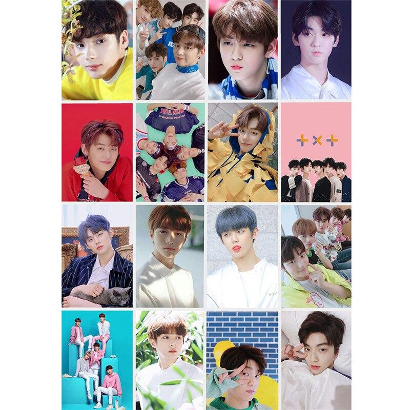 16pcs/set Kpop TXT Fanmade Photocards 1