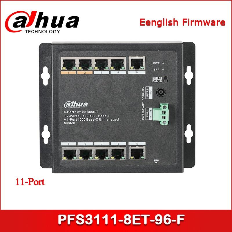 Güvenlik ve Koruma'ten CCTV Aksesuarları'de Dahua PoE Anahtarı PFS3111 8ET 96 F 11 Port Switch ile 8 Port PoE title=