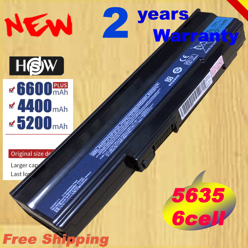 HSW Laptop battery for Acer Extensa 5235 5635G 5635Z 5635ZG for Acer eMachines E528 E728 AS09C31 AS09C71 <font><b>AS09C75</b></font> Z fast shipping image