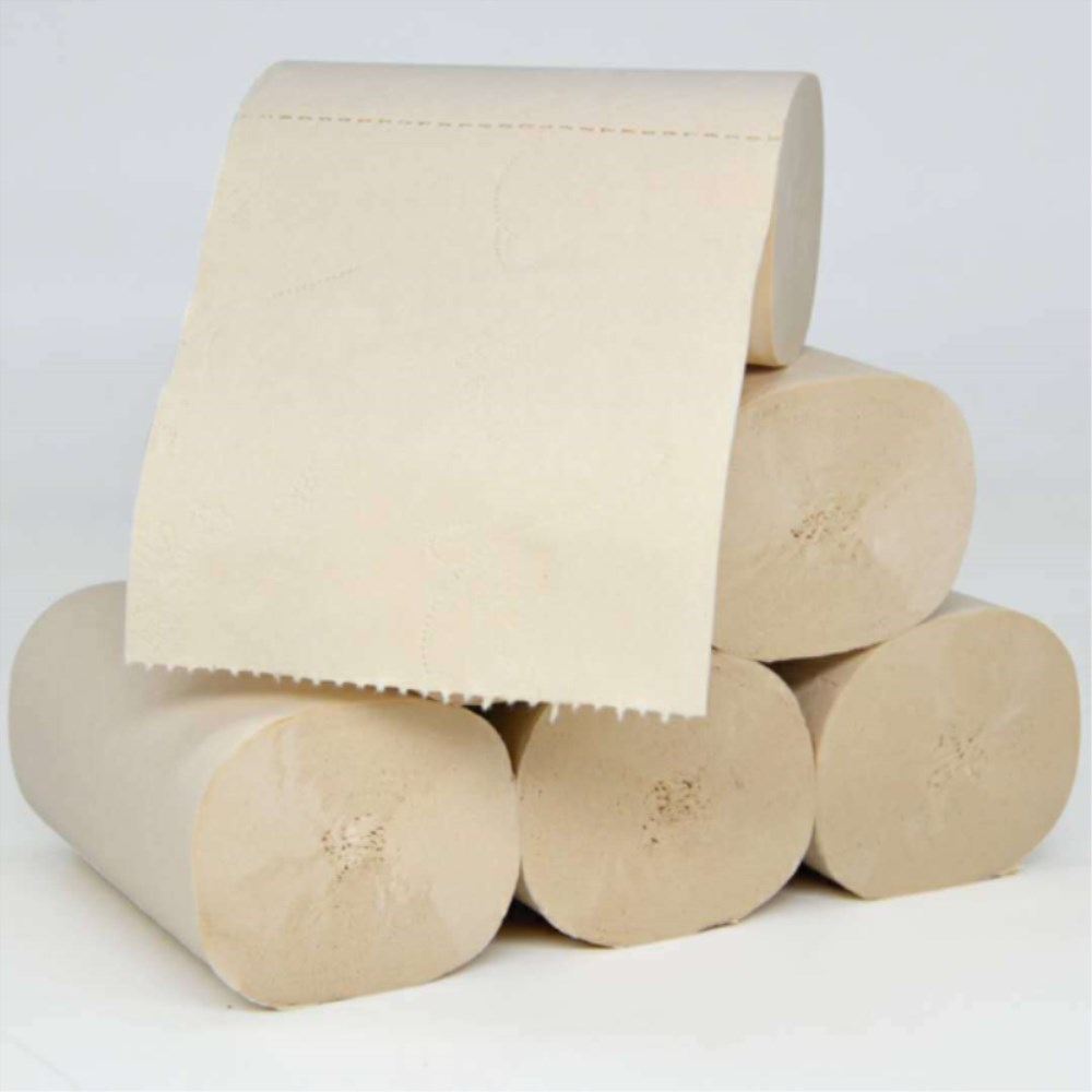 10 Rolls / Carton Household Bathroom Toilet Paper Wood Pulp Toilet Paper Fast Shipping