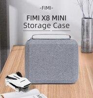 Lagerung Tasche Tasche Handtasche Reise Koffer Lagerung Taschen Drone Batterie Drone box Für FIMI X8 MINI Drone Zubehör
