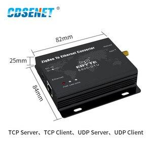 Image 2 - وحدة إرسال واستقبال البيانات اللاسلكية ، CC2530 ZigBee Ethernet ، 27dBm TCP UDP ، بعيد المدى ، شبكة مخصصة 500mW ، جهاز إرسال واستقبال