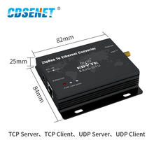 CC2530 ZigBee Ethernet Wireless Data Transceiver Module 27dBm TCP UDP Long Range Ad Hoc Network 500mW Transmitter and Receiver