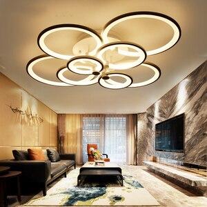 Image 1 - NEO זוהר שלט רחוק סלון חדר שינה מודרני led תקרת אורות luminarias para sala עמעום led תקרת מנורת גופי