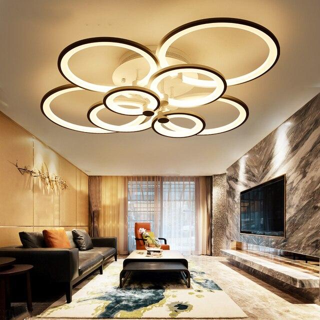 NEO זוהר שלט רחוק סלון חדר שינה מודרני led תקרת אורות luminarias para sala עמעום led תקרת מנורת גופי