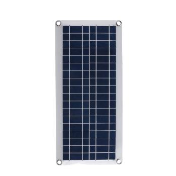 50W Portable/Waterproof Solar Panel and Fully 4-PWM Charge Management Solar Controller