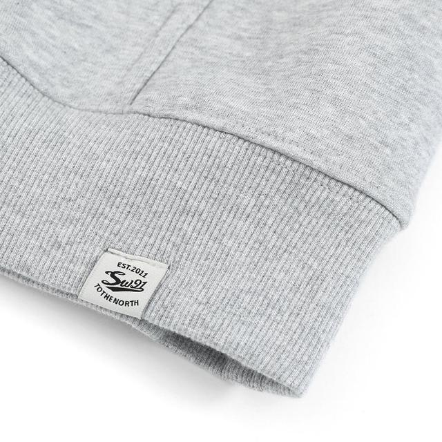 Heavyweight Hoodie for Men with logo print
