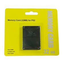 8 Мб 16 Мб 32 Мб 64 МБ 256 Мб карты памяти карты расширения подходит для Sony Playstation 2 PS2 черный 8 Мб карты памяти оптовая продажа