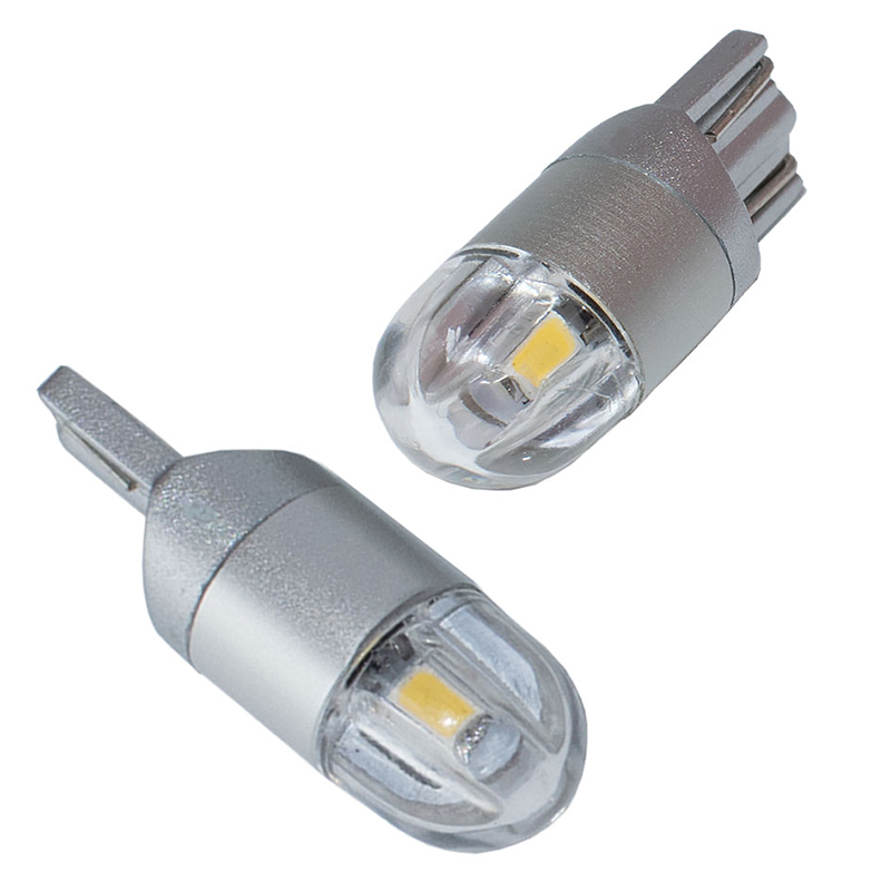 2x T10 W5W Car LED Signal Bulb Super Bright Auto Dome Reading License Plate Trunk Luggage Lamp Motorcycle Light 3030 2SMD 12V