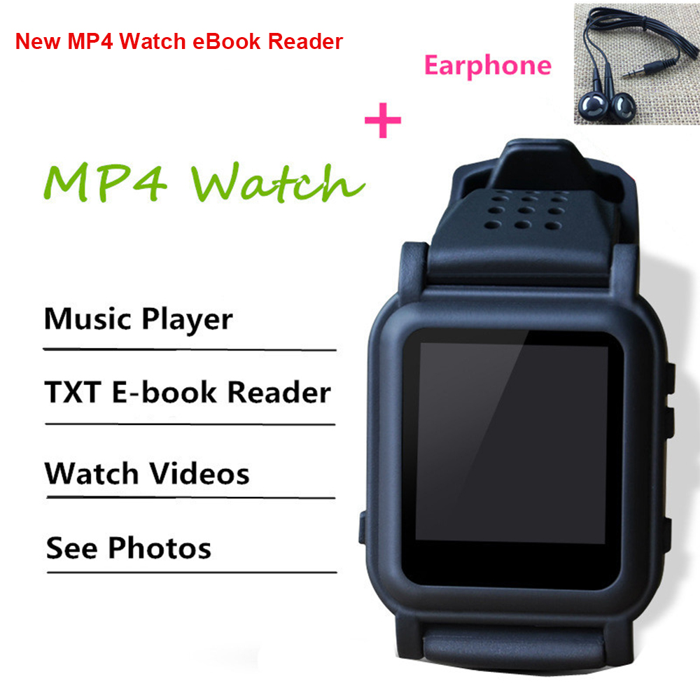 New Exam Watch Smart Watch 4GB 8GB Memory Card Support EBook Reader MP3 Music Player Different Language Make Call Watch
