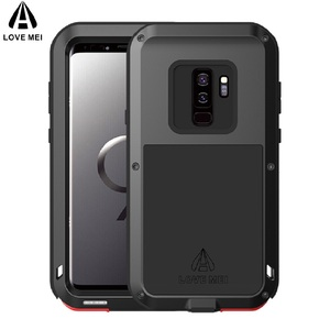 Image 2 - S10 Metal Phone Case on For Samsung Galaxy S10 S9 S8 Plus Shockproof Metal Armor Cover For Samsung S10E S9 S8 S10 5G S7 S6 Cases