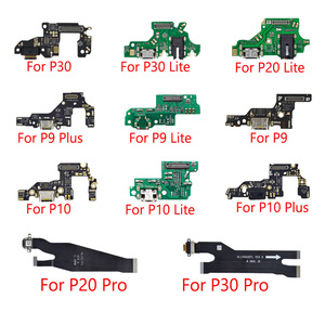 1pcs New USB Charging For Huawei P9 P10 P30 lite P20 Pro P30 P9 P10 Plus Charger Port Dock Connector Flex Cable