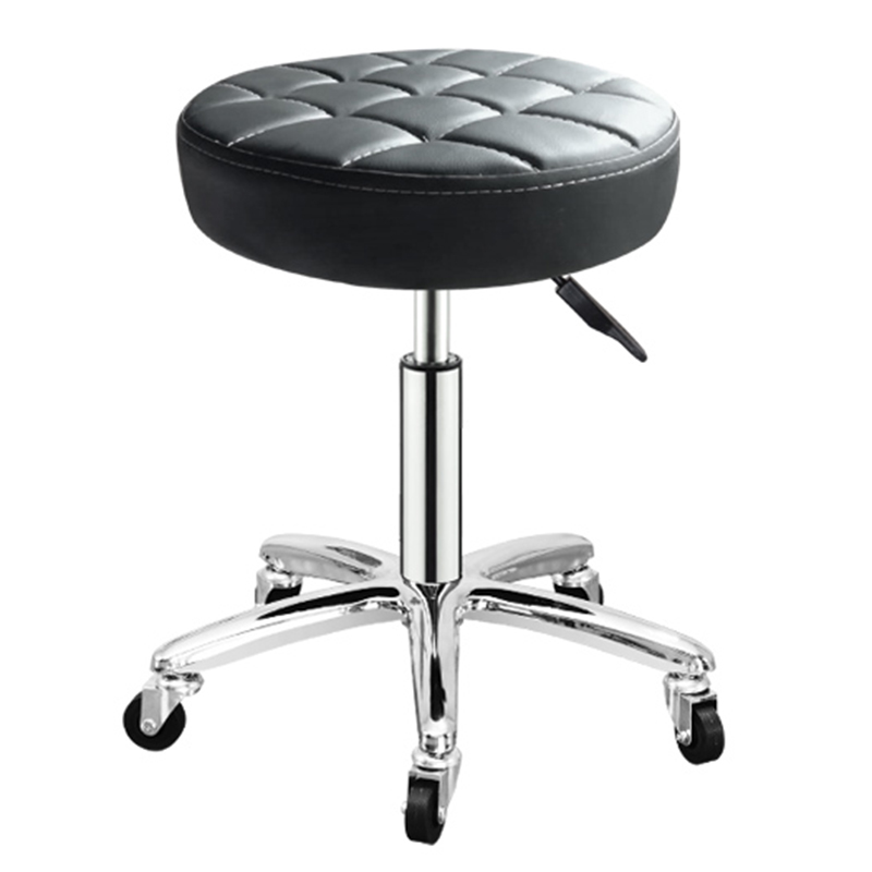 Rotating Lift Back Salon Chair High Bar Stool Home Fashion Creative Beauty Round Stool Swivel Chair Bar Chair