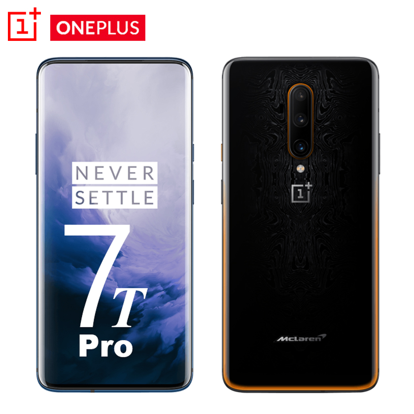 Global Rom OnePlus 7T 8GB 256GB Smartphone Snapdragon 855 Plus Octa Core 90Hz AMOLED Screen 48MP Triple Cameras NFC Mobile Phone